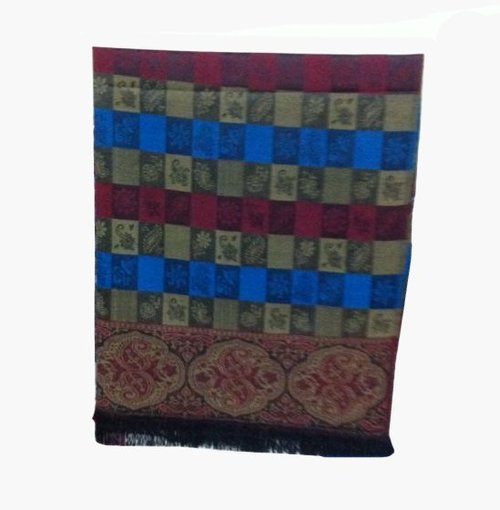 Colorful Jacquard Shawl