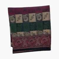 Rare Antique European Jacquard Shawls