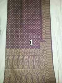 100% Silk Jacquard Shawl