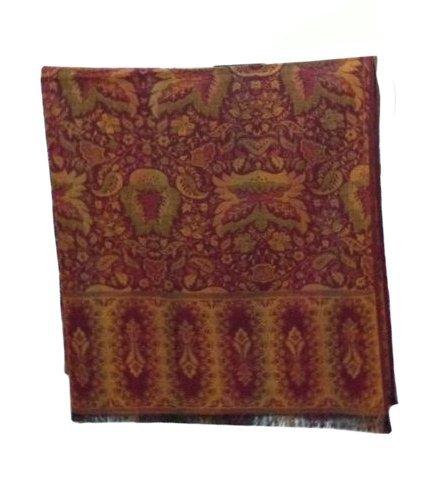 Jacquard Weave Silk Shawl