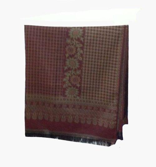 Acrylic Knitted Jacquard Shawl