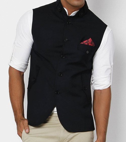 Black Jawahar Jacket