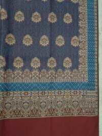 Wool Jacquard Printed Shawls
