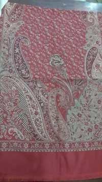 Wool Embroidery Sulzer Shawl