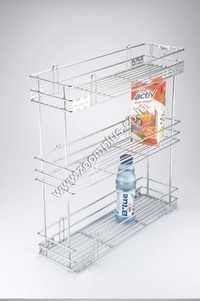 3 Tier Pull Out Bottle Basket