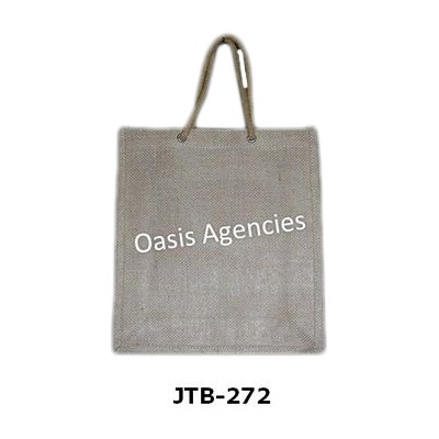 Personalized Jute Tote Bags