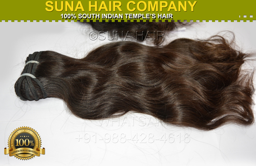 Brown Natural Silky Straight Human Hair Extension