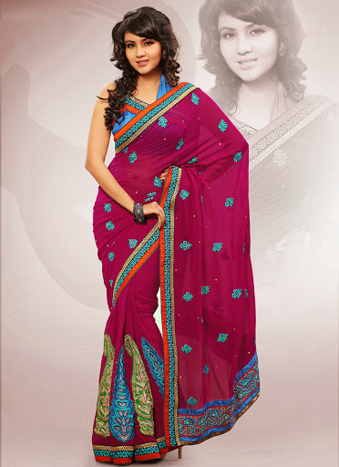 Evergreen Bridal Saree