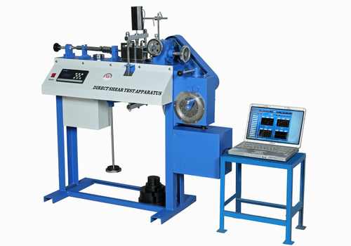 Shear Box Apparatus (Direct Shear Testing Machine)