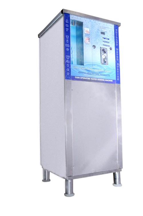 Coin Card Operating Water Vending Machine