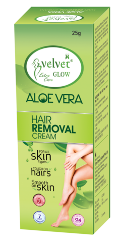 Velvet Glow Hair Removal Cream(AloeVera)