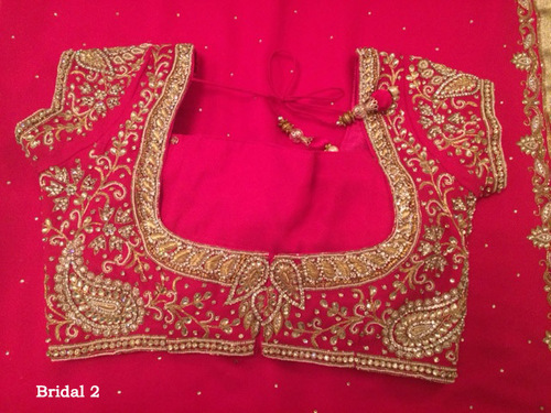 Exclusive Designer Blouse Sarees