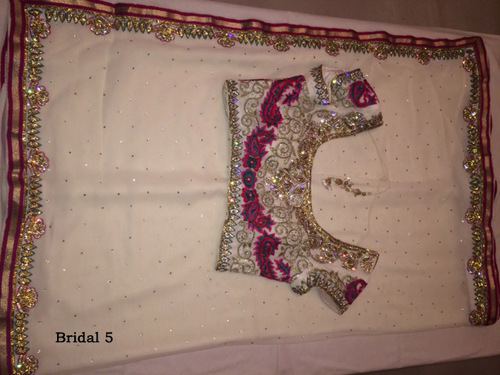 Embellished Saree Blouse Designs