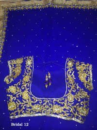 Designer Blouse  exclusive Sarees