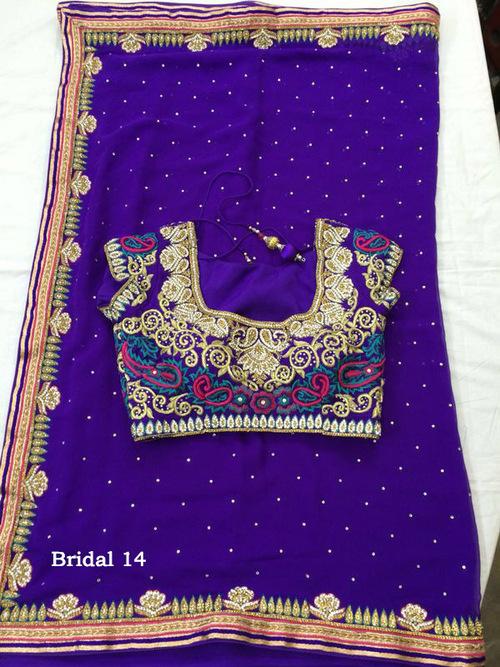 Elegant Saree Blouse Designs