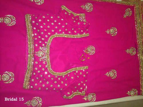 Contemporary Saree Blouse Designs