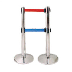 Stanchion Post Double Belt