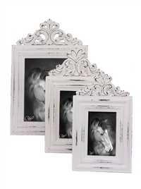 Set Of 3 Photo Frames Hand Carved Wooden In Ornate Design Memorable Gifting Idea