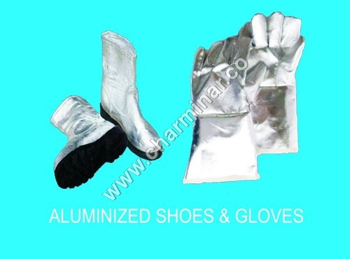 Aluminized Shoes & Gloves