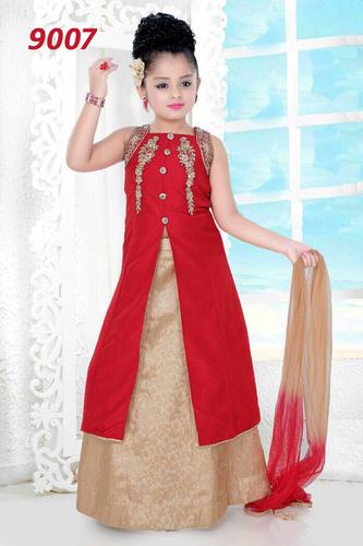 Girls Anarkali Churidar