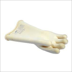 Rubber Electrical Hand Gloves