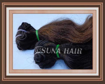 Manufacturing price never shedding natural no synthetic hair
