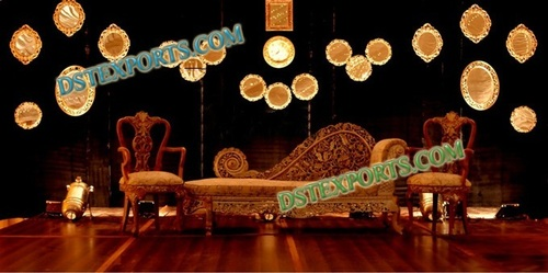 ROYAL WEDDING HEAVY CARVING SOFA SET