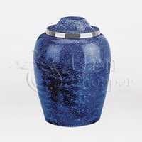 Cobalt Blue Alloy Keepsake Brass