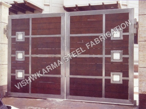 Wooden S.S.Gate