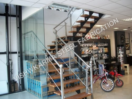 Staircase for shopping mall