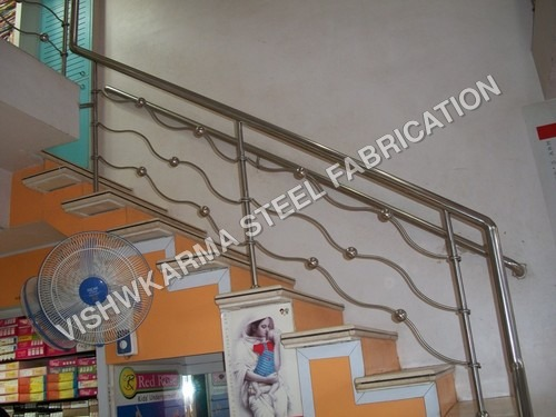 SS Railing For Shop