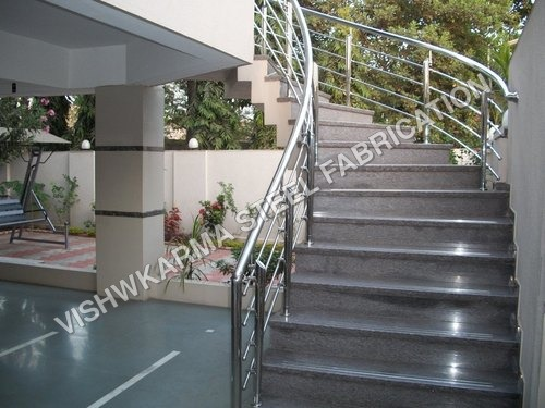 SS Railing For Raw house