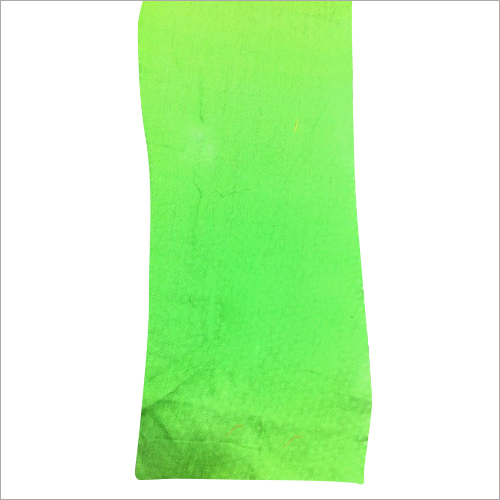 Green Coloured Cotton Fabric