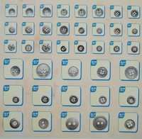 24 Metal Buttons