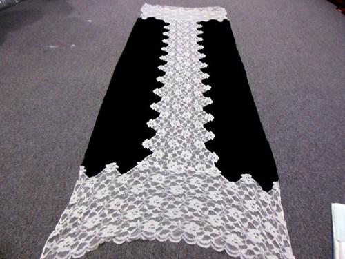 100% wool cashmere indain cutwork stoles