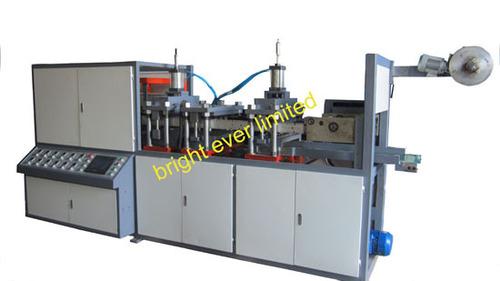 PP plastic lid forming machine
