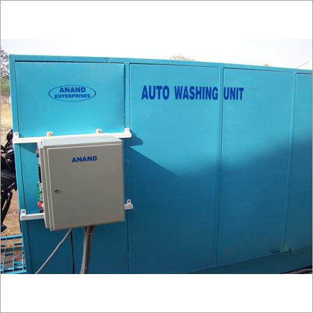 Automatic Motorcycle Washing Unit