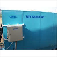 Automatic Motorcycle Washing Unit