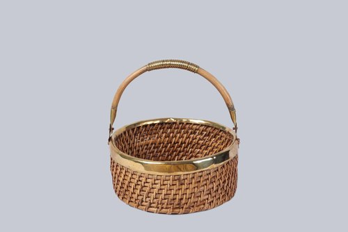 ROUND TABLE BASKET