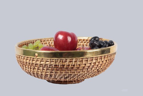 ROUND FRUIT BOWL