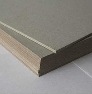 Laminated Grey Chipboard Paper