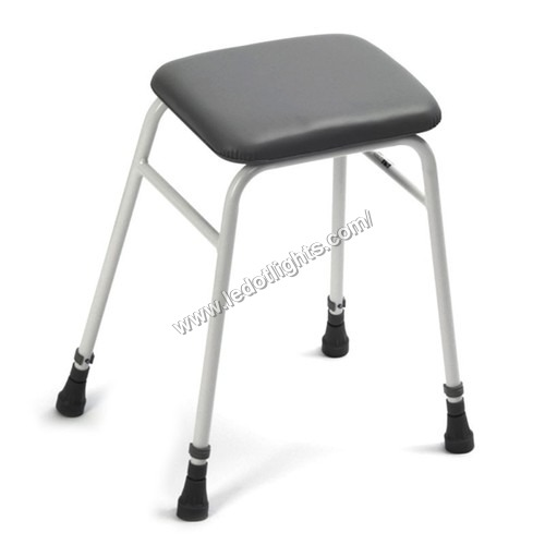 ATTENDANT STOOL WITH CUSHION