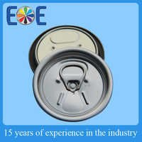 Tajikstan 200 50mm Aluminium easy open end factory