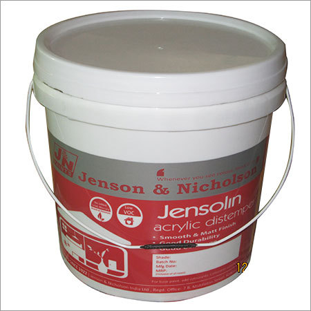 Acrylic Distemper Buckets