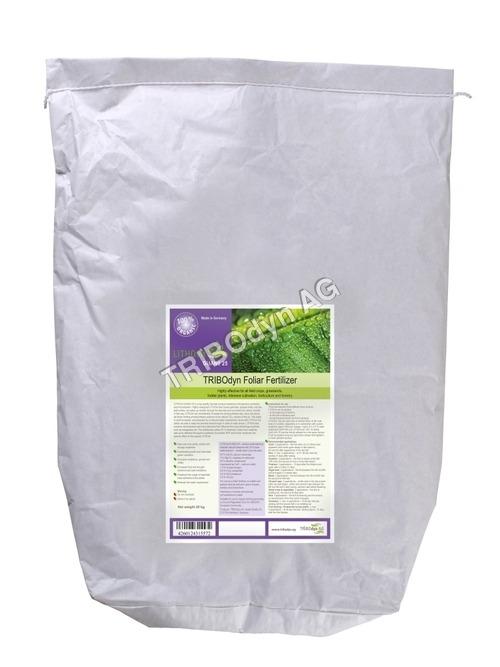 Natural Foliar Fertiizer 20 kg-Inliner paper bag
