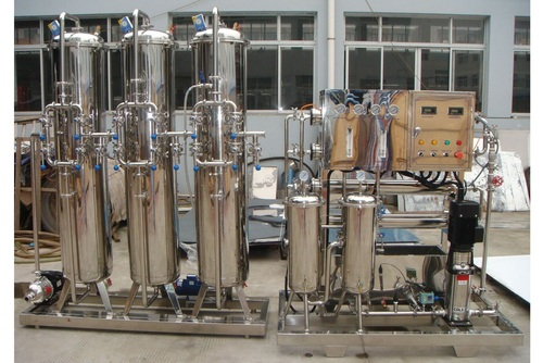 Mineral Water Treatment Plant SS 1000LPH