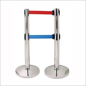 Stanchion Post with Double Belt