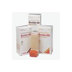 Beclate Inhaler (Beclomethasone 100 mcg)