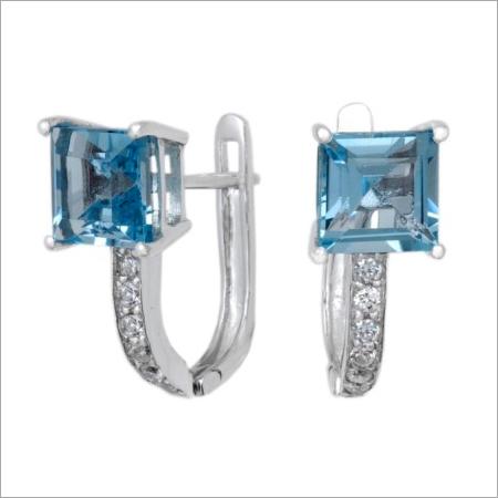 Trendy Silver Earrings