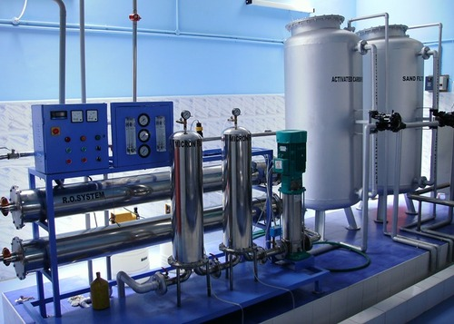Mineral Water Treatment Plant 6000LPH